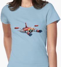 UFO ROBOT Women's Fitted T-Shirt