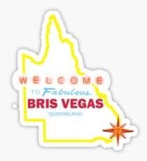 Bris Vegas Sticker