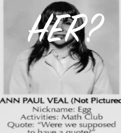 Bland Ann Sticker