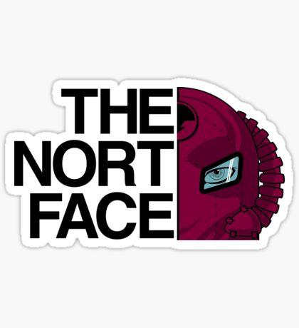 The Nort Face !!STAK!! Sticker