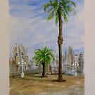 Barcelona #1 by Linda Ridpath