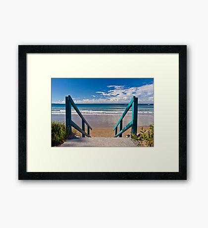 Inviting... Framed Print
