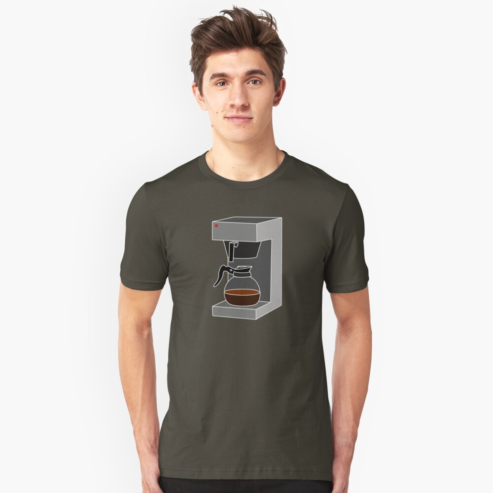 Coffee Monkey - Filter Coffee Unisex T-Shirt Front