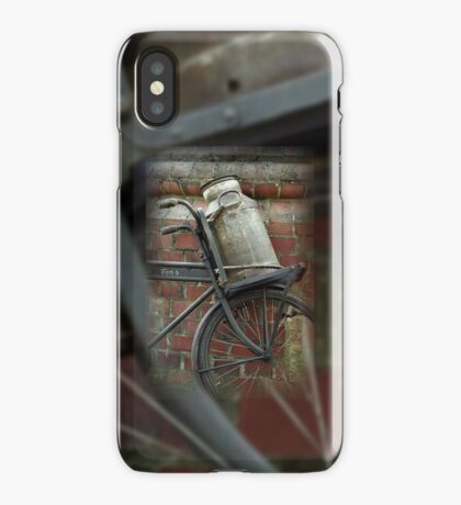 At the dairy factory iPhone Case/Skin