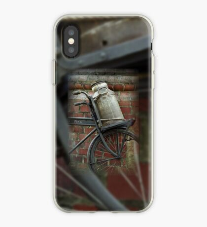 At the dairy factory iPhone Case
