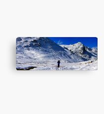 crinkles climber panorama2 Canvas Print