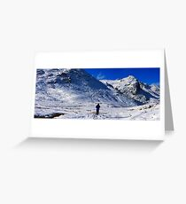 crinkles climber panorama2 Greeting Card