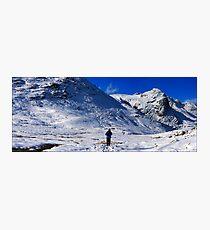crinkles climber panorama2 Photographic Print