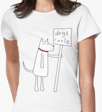 Dogs Roole Women's Fitted T-Shirt