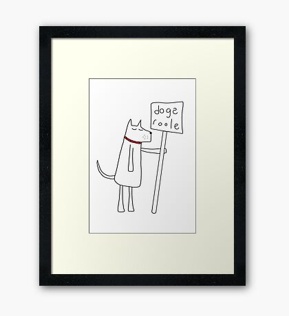 Dogs Roole Framed Print