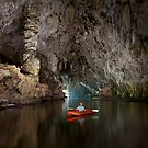 Cave kayaking, Thailand by John Spies