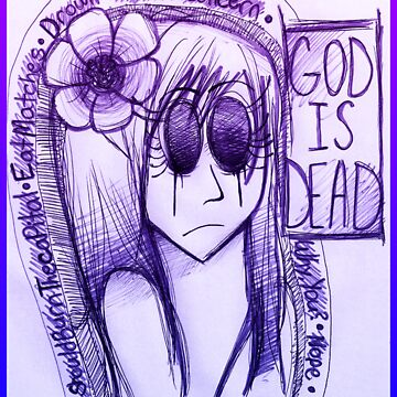 God is Dead Poster by giantrabbit