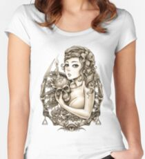 Winya No. 34 Women's Fitted Scoop T-Shirt
