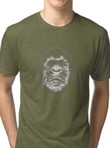 "Gorilla ""I Rock"" Tri-blend T-Shirt"