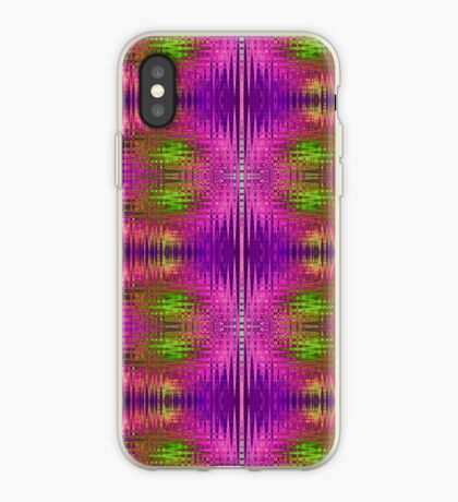 Electric Purple Reflected iPhone Case