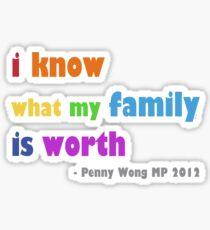 rainbow family Sticker