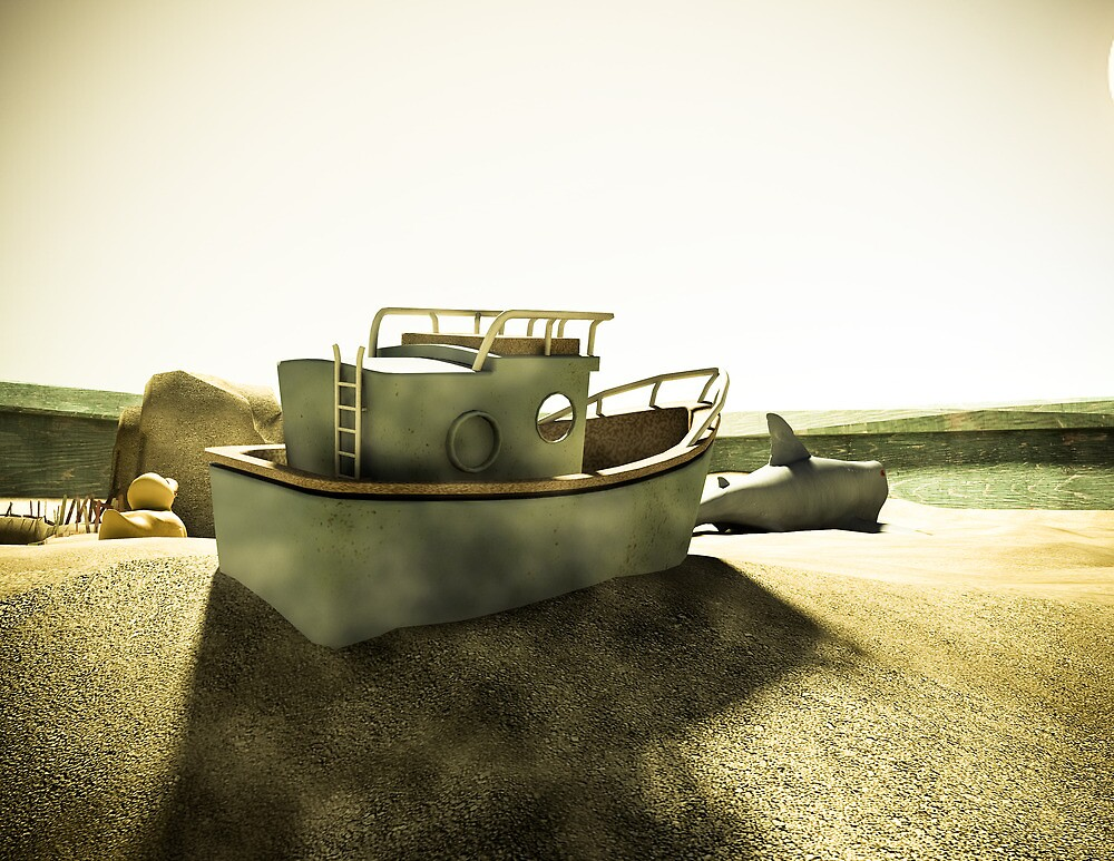 Summer Sand Box Fun 02 by mdkgraphics
