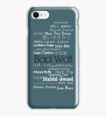 B A D W O L F iPhone Case/Skin
