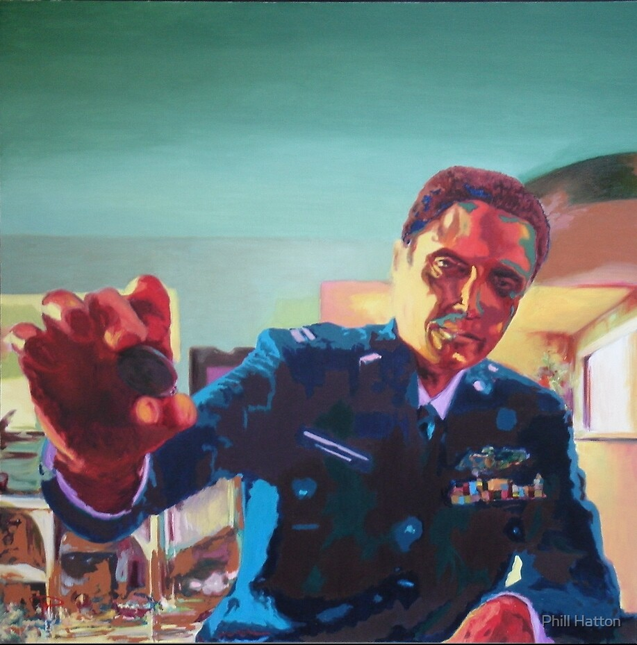 Portrait of Captain Koons by Phill Hatton