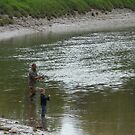 Father and Son 'First time Out' by Hucksty