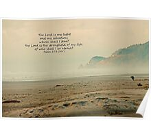 Psalm 27:1 Poster