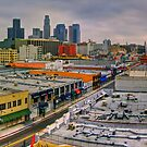 LA Morning Panoramic by Benjamin Curtis