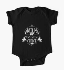 Anchorman - milk was a bad choice One Piece - Short Sleeve