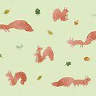 Red Squirrels by Sophie Corrigan