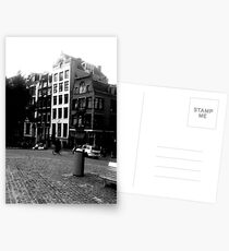 Amsterdam in Black and White Postcards