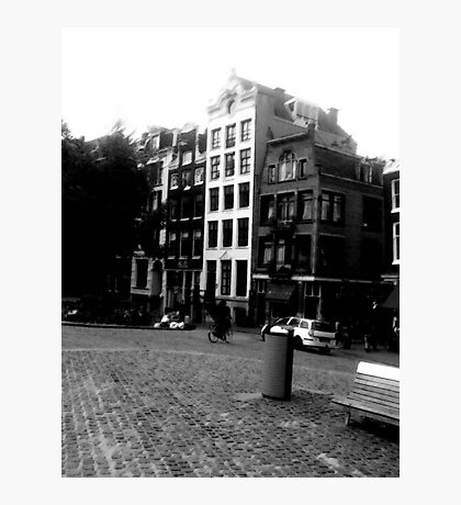 Amsterdam in Black and White Photographic Print