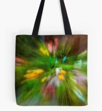 Rainy Day: Tulips, Zoomed Tote Bag