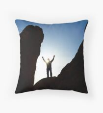 Thanks For Today and Hope For Tomorrow Throw Pillow