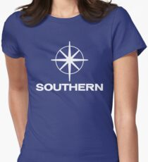 Southern Television, ITV regional logo Women's Fitted T-Shirt