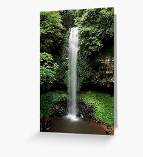 Crystal Shower Falls Greeting Card