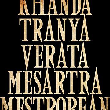 Ash vs Evil Dead - Khanda Tranya Verata... by Yithian