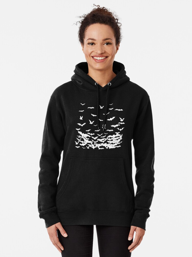 Alternate view of Going Batty Pullover Hoodie