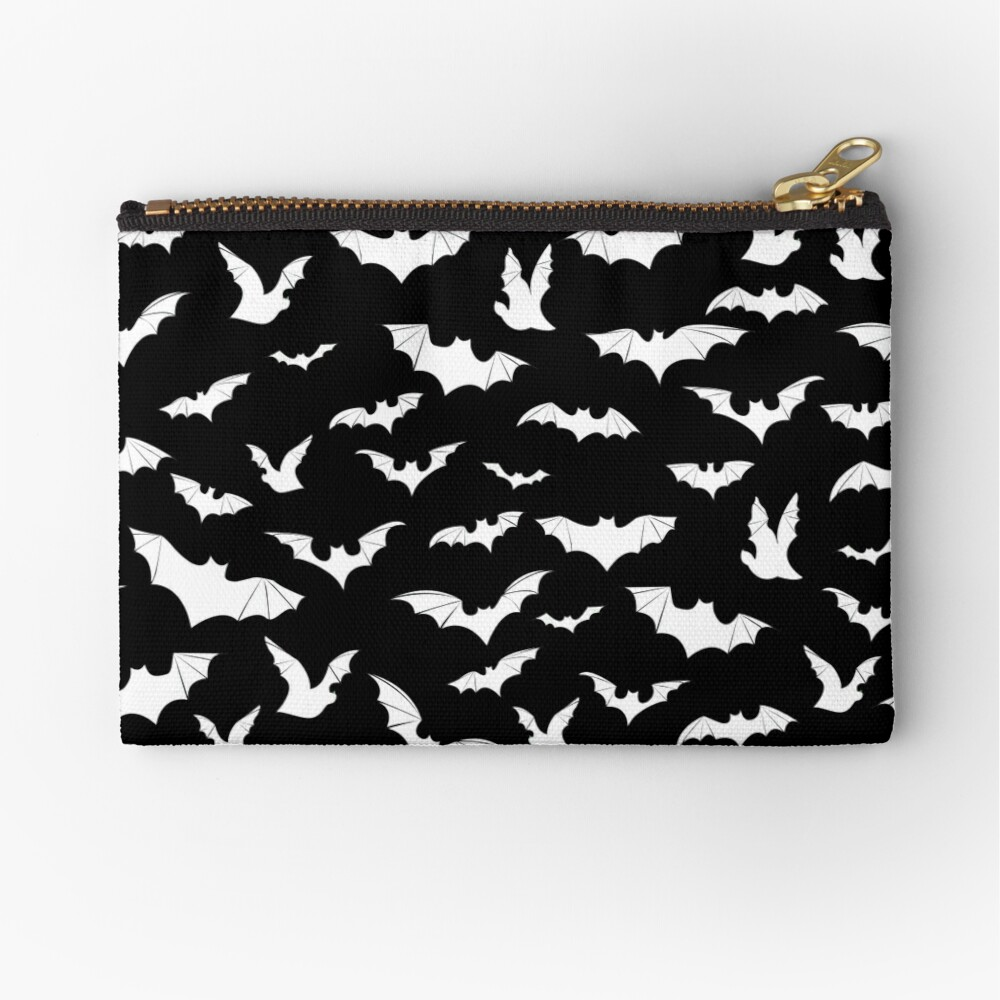 Going Batty Zipper Pouch