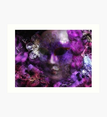 Masked Dreams.. Art Print