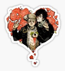 Sherlock: The Reichenbach Fall 2 Sticker