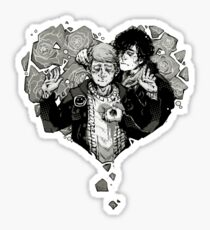 Sherlock: The Reichenbach Fall Grey Sticker