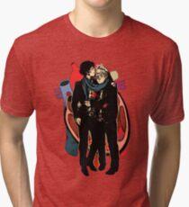 Sherlock: HEART and mind Tri-blend T-Shirt