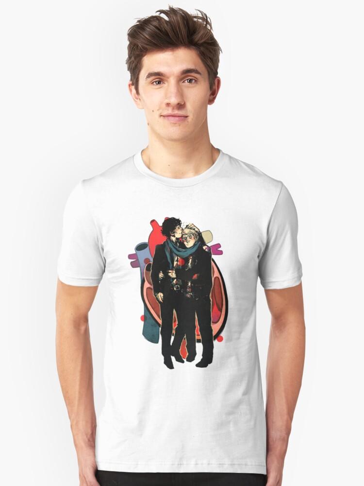 Sherlock: HEART and mind Unisex T-Shirt Front