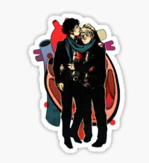 Sherlock: HEART and mind Sticker