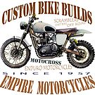 ENDURO MOTORBIKE T SHIRT by JohnLowerson