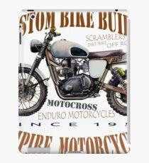 ENDURO MOTORBIKE T SHIRT iPad Case/Skin
