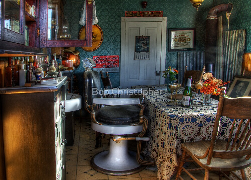 Barber Shop Back In Time by Bob Christopher