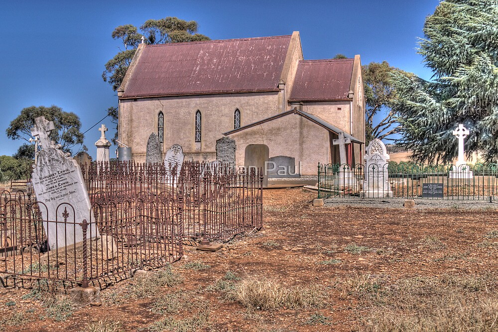 St Mary's Catholic Church, Mintaro, South Australia by Adrian Paul