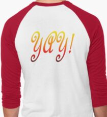 Yay! Men's Baseball ¾ T-Shirt