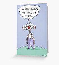 bitter Greeting Card
