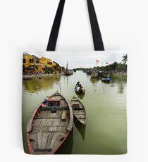 Thu Bon River, Hoi An, Vietnam Tote Bag